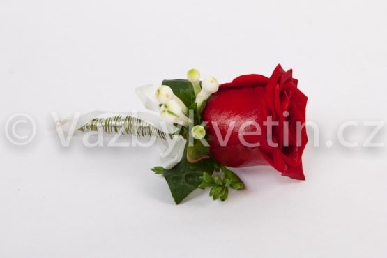 Klopa pro ženicha rudá růže