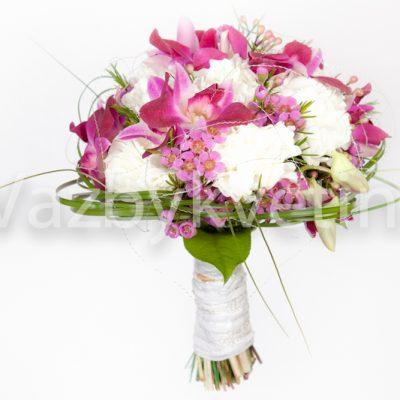 Svatební kytice z dendrobia