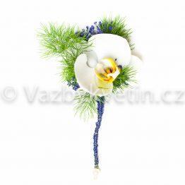 Svatební orchidej do klopy