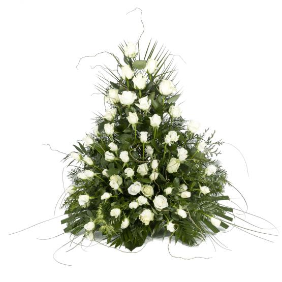 Variace bílé růže