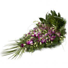 Volně vázaná kytice dendrobium