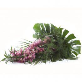 Volně vázaná kytice Cymbidium