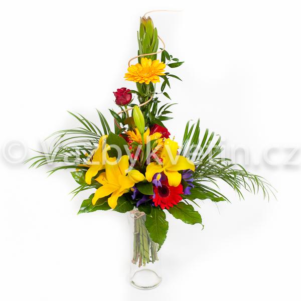 Kytice ze žlutých lilií