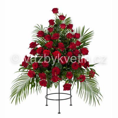 Variace rudé růže