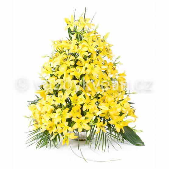 Variace žluté lilie