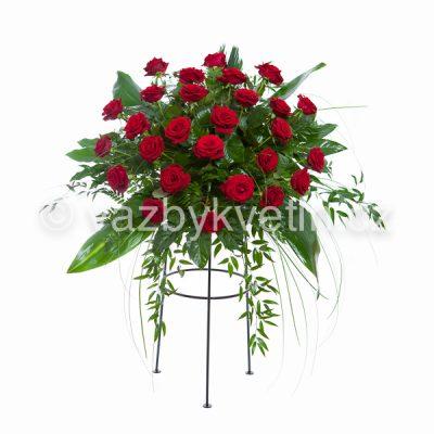 Aranžmá červené růže