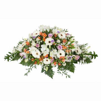 Kytice na rakev lilie, gerbery a růže